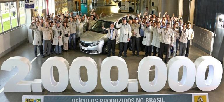 Renault Βραζιλίας: Έφτασε το ορόσημο των 2 εκατ. οχημάτων