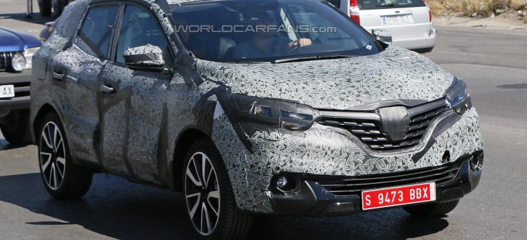 Spy Photos – Renault Koleos/Megane SUV (?)