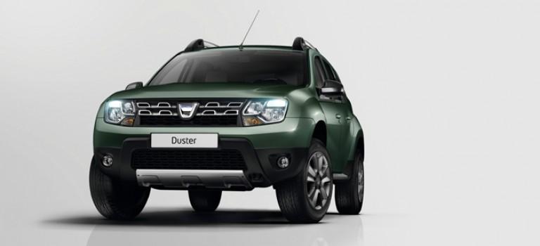 Μεταφορά παραγωγής για τα δεξιοτίμονα Dacia Duster
