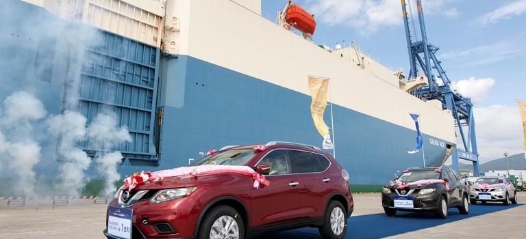 Η Renault Samsung Motors άρχισε την εξαγωγή του Nissan Rogue στη Βόρεια Αμερική