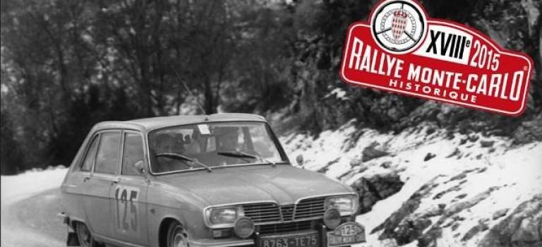 2015 Rallye Monte-Carlo Historique με Renault 16