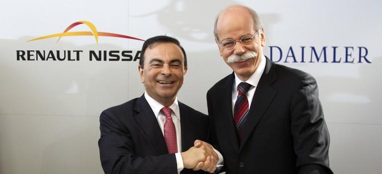 Η συνέντευξη τύπου των Carlos Ghosn και Dieter Zetsche