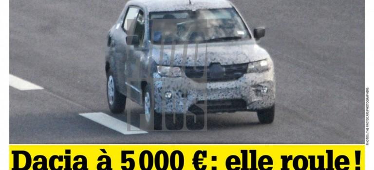 Spy Photos: Το νέο χαμηλού κόστους μοντέλο της Renault/Dacia