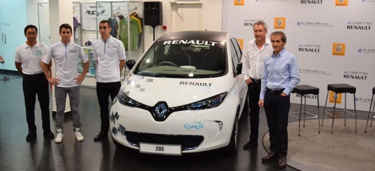 Η Renault θα 'ηλεκτρίσει' την πίστα Putrajaya