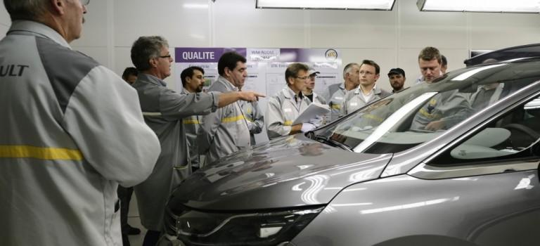 Πρόκληση για το εργοστάσιο Douai το νέο Espace – Ανοίγει τις πύλες του το νέο εργοστασιο της Renault στην Αλγερία