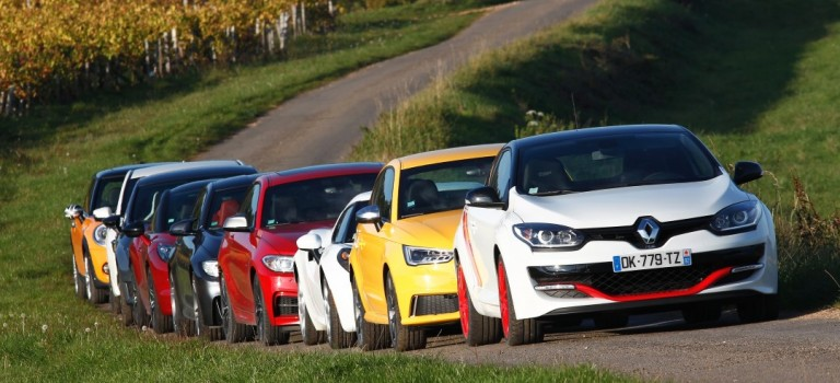 Renault Mégane R.S. 275 Trophy-R: 'Sports Model of the Year 2014'!