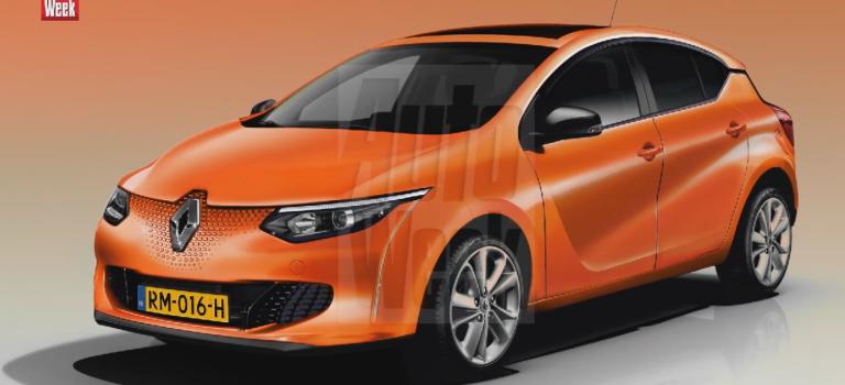 Rendering – Renault Megane 2016
