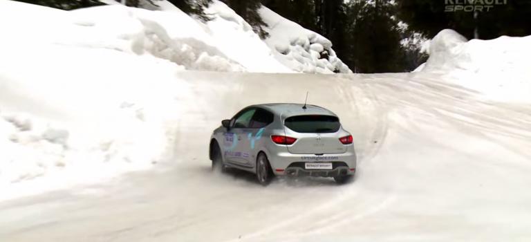 Μαθήματα οδήγησης στον πάγο
