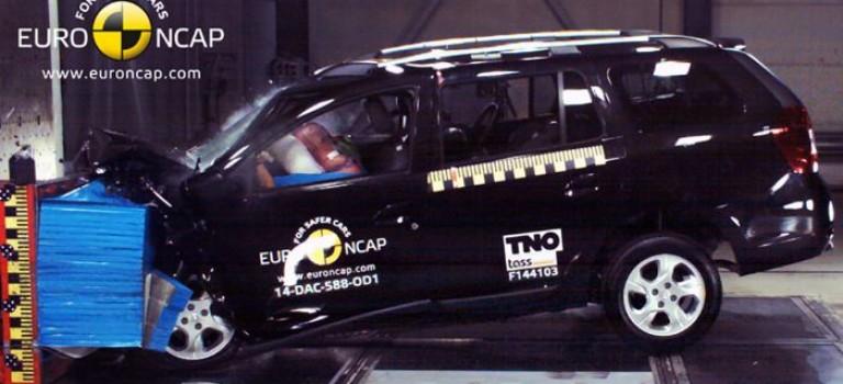 3 αστέρια στο EuroNCAP για το Dacia Logan MCV