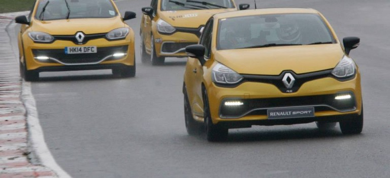 Track Test: Renault Clio RS 200/Clio Cup/Megane RS Trophy 275