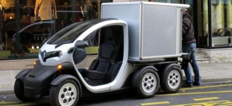 Πρώτη εικόνα του νέου Renault Twizy Delivery Concept