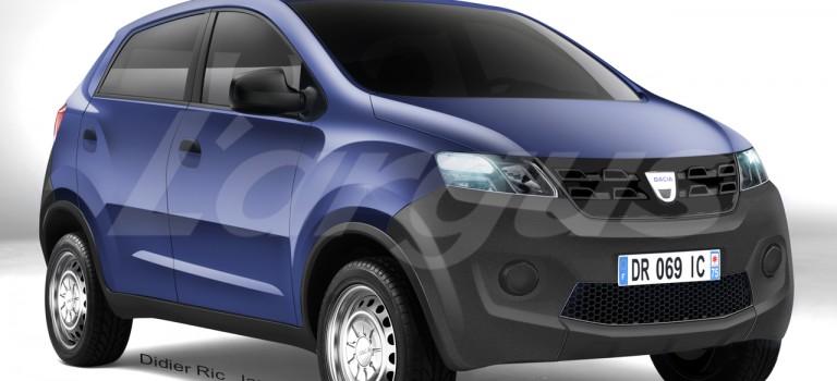 Το Dacia των 5.000€ [Rendering]
