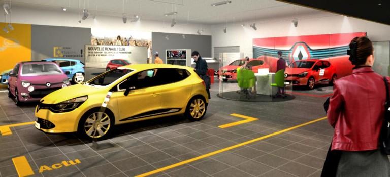Η Renault φέρνει άνεμο αλλαγής στις αντιπροσωπείες της  [Photos]