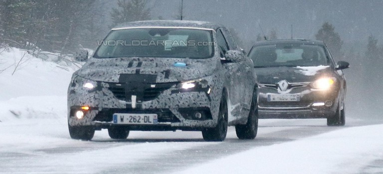 Renault Megane IV 2016 – Spy Photos