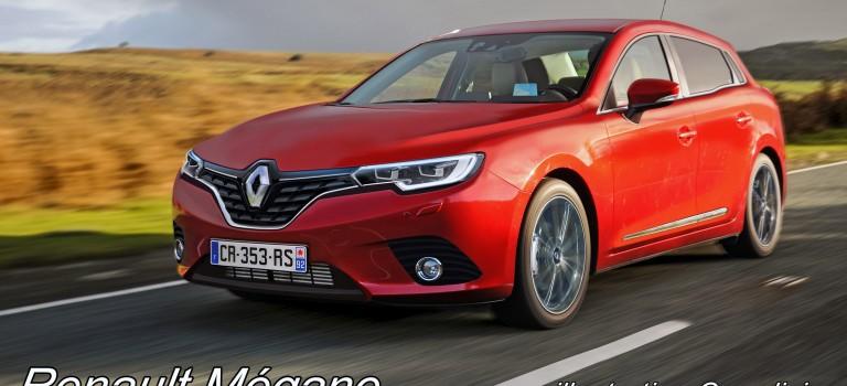 Renault Megane τέταρτης γενιάς [Rendering]