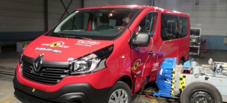 3 αστέρια στο EuroNCAP για το νέο Renault Trafic