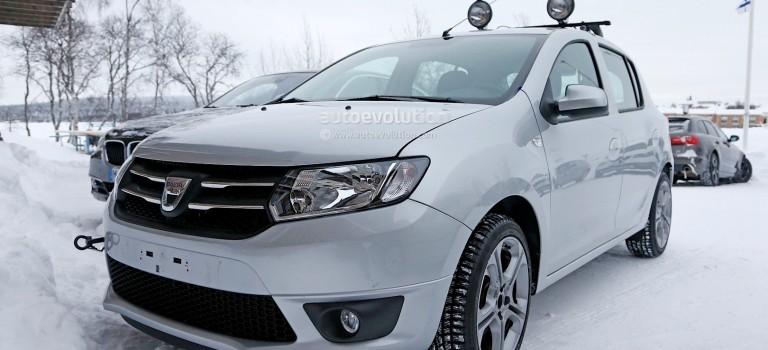 Spyshots: Dacia Sandero RS