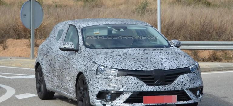 Renault Megane IV 2016 – New Spy Photos