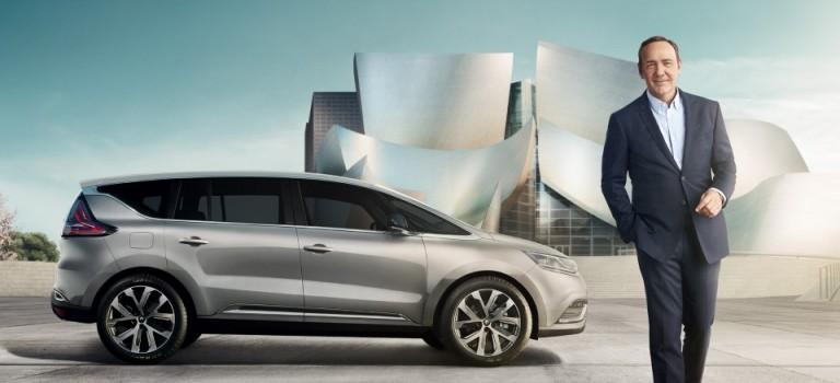 Ο Kevin Spacey λανσάρει το νέο Renault Espace