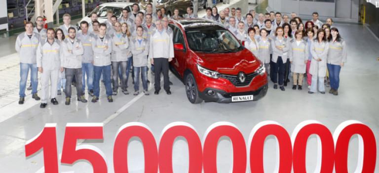 Η Renault έφτασε τα 15εκατ. οχήματα στην Ισπανία