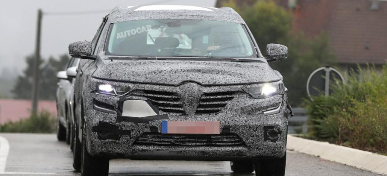 Νέο Renault Koleos – Spy Photos