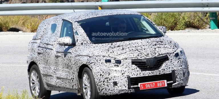 Spyshots: Renault Scenic 2017