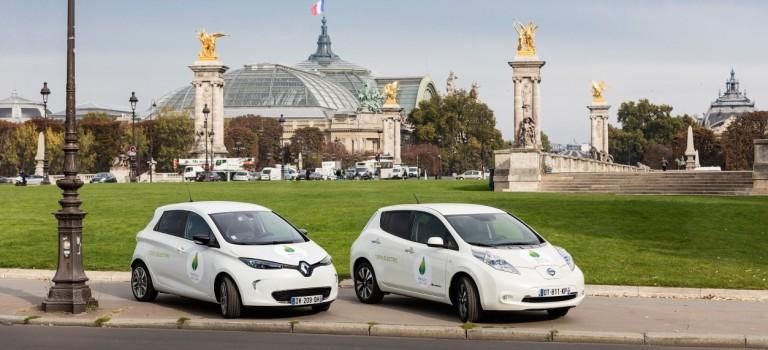 Η Renault-Nissan παρέχει το μεγαλύτερο στόλο EV παγκοσμίως στο διεθνές συνέδριο COP21