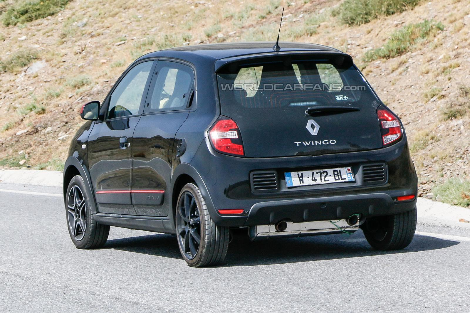 Renault Twingo III GT - Spy Photo