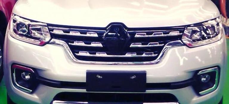 Διέρρευσε φωτογραφία προ-παραγωγής του Renault Alaskan