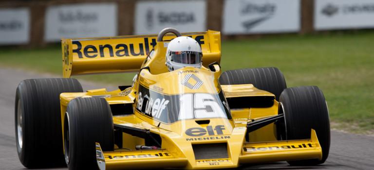 Ο Damon Hill οδηγεί την Renault RS01 στο Μονακό [Video]