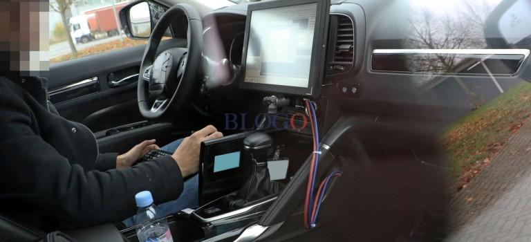 Spy Photo – Το εσωτερικό της νέας γενιάς Renault Koleos