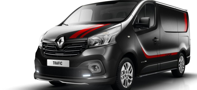 Νέες σπορ εκδόσεις για το Renault Trafic σε Βρετανία & Ολλανδία!