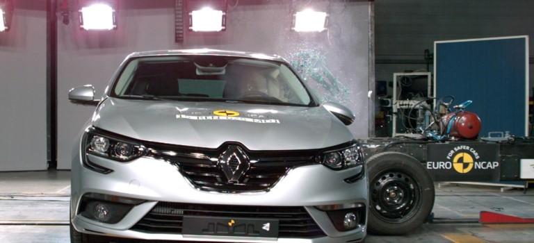 5 αστέρια για τα νέα Renault Megane & Talisman στο EuroNCAP