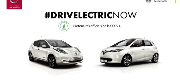 COP21: Η Renault και η Nissan παρουσιάζουν την κοινή διαφημιστική καμπάνια τους