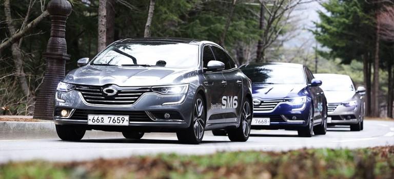 Το νέο SM6 (Talisman) της Renault Samsung εξερευνά νέα πρότυπα στην μεσαίου μεγέθους αγορά sedan