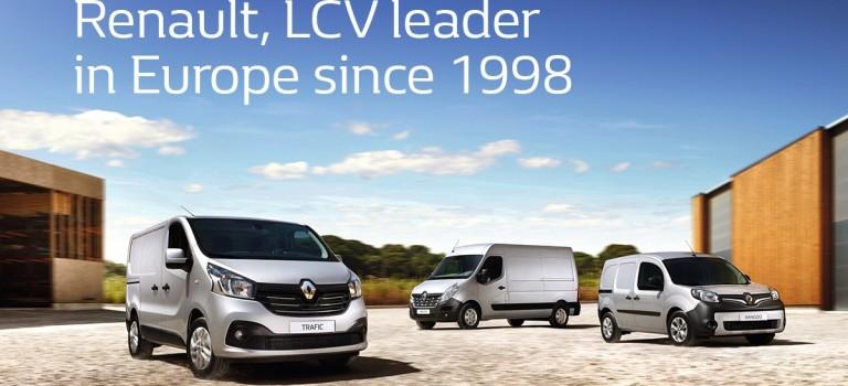 Ηγέτιδα δύναμη η Renault στην κατηγορία των LCV
