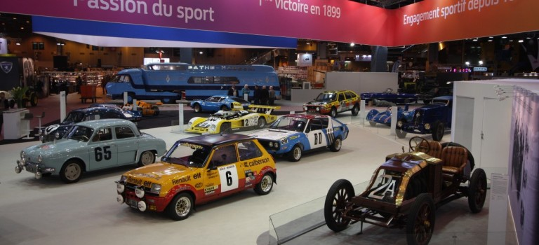 Alpine & Renault στο Rétromobile show 2016