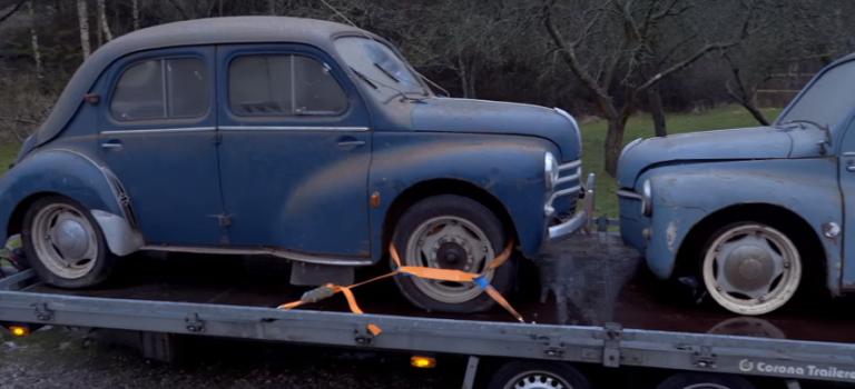 {Stories} Πενήντα αυτοκίνητα Renault βρέθηκαν σε αχυρώνα στη Δανία [Video]