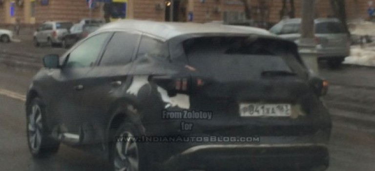 Renault Grand Captur – Spy Photos