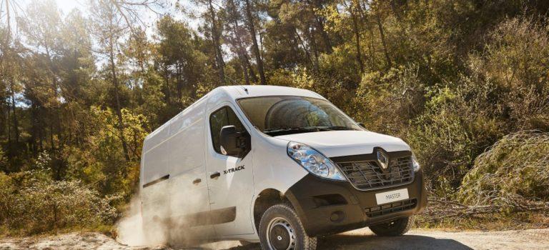 Η Renault Pro + εισάγει τα Renault X-Track και Master 4×4 για να βελτιώσει την απόδοση των LCV σε δύσκολες συνθήκες