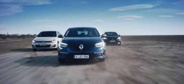 Renault: Καλύτερο το Megane GT από Golf GTI και Focus ST! [Video]