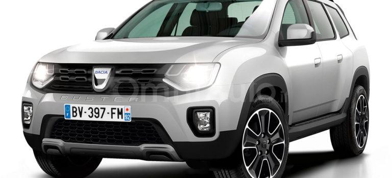 Dacia Duster II 2017 (Rendering)