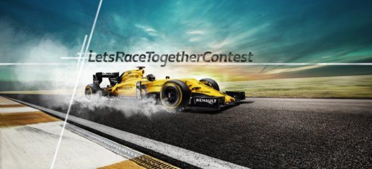 Renault F1 – #LetsRaceTogetherContest