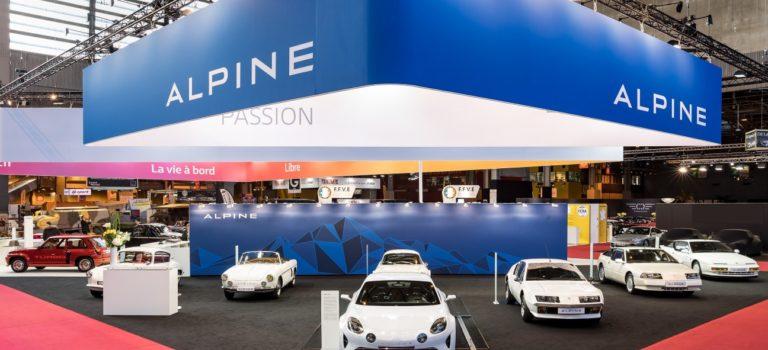 Alpine Retromobile 2017: το πάθος για την Alpine μέσα από τα χρόνια