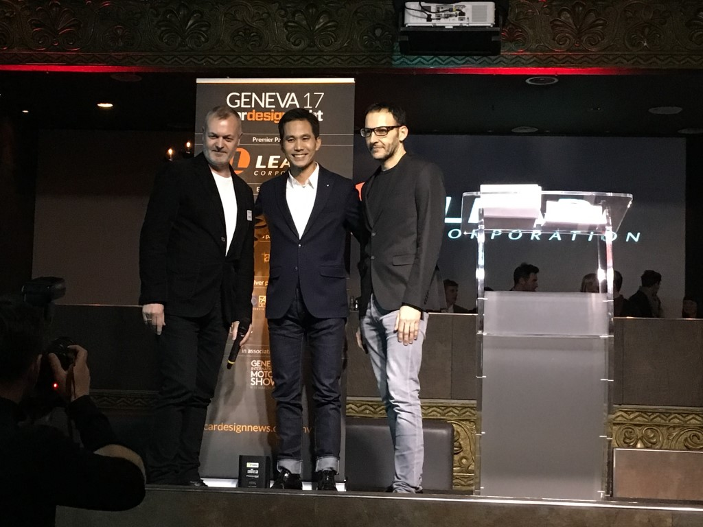 Renault TREZOR, Concept Car of the Year at Geneva Car Design Awards