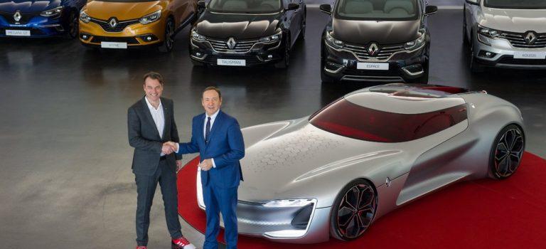 Ο γνωστός ηθοποιός Kevin Spacey επισκέφθηκε το Τεχνολογικό κέντρο της Renault