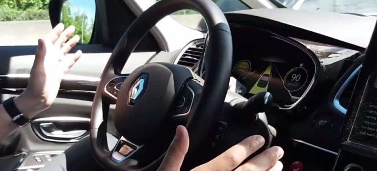 Το αυτόνομο πρωτότυπο αυτοκίνητο της Renault εν κινήσει [Βίντεο]