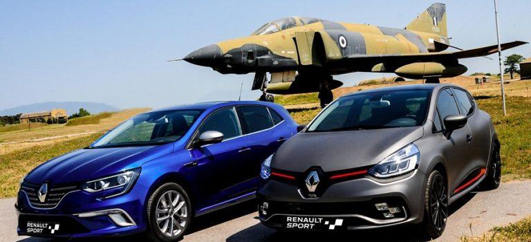 H Renault Sport δίπλα στην Ελληνική Πολεμική Αεροπορία