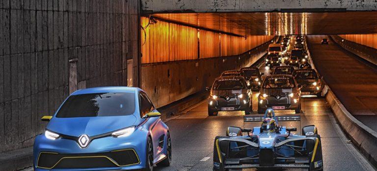 Η Renault Sport «βολτάρει» την ZE16 και το ZOE e-Sport στους δρόμους του Παρισιού
