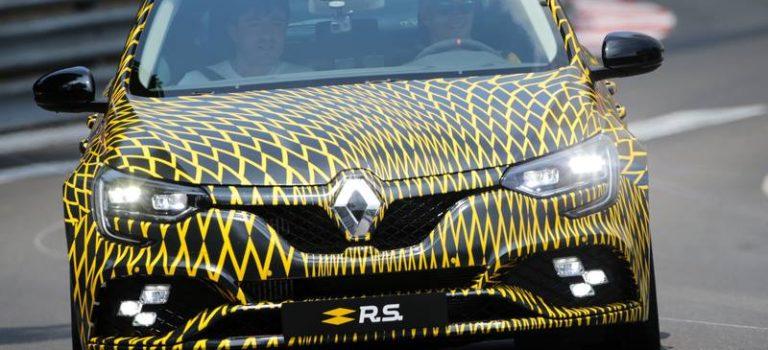 Το νέο Renault Megane RS στους δρόμους του Πριγκιπάτου